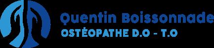Quentin Boissonnade, Ostéopathe